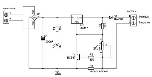 Schema Elettrico Riduttore Di Tensione Da 24v A 12v : Carica batteria al piombo v prof puglisi salvatore
